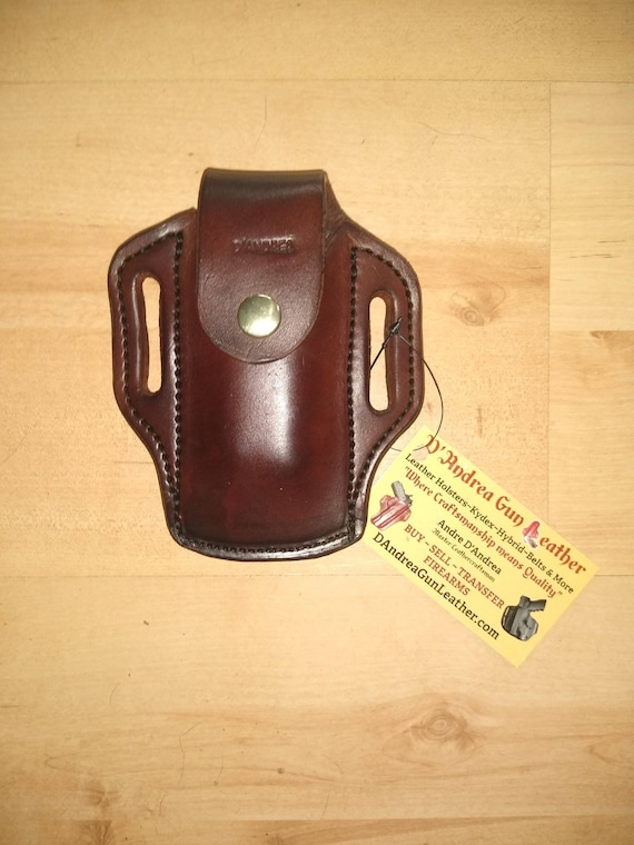 Leather Sheath for Leatherman© Wave, Custom Crafted Leather Sheath