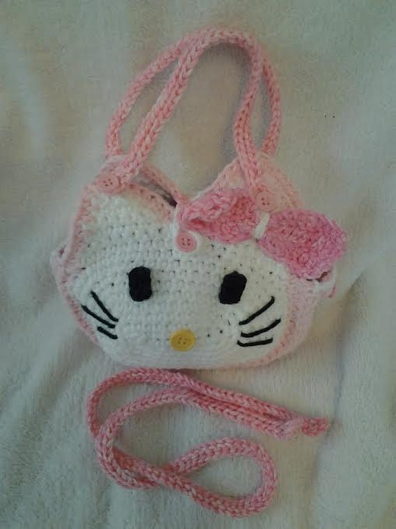 Hello Kitty Purse Crochet