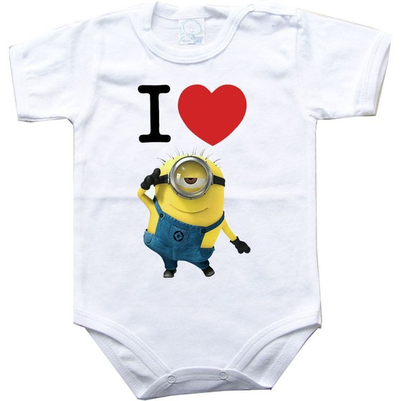 ONE IN A MINION MY DADDY FUNNY BABY GROWS BODYSUIT GIFT CHRISTMAS BIRTHDAY