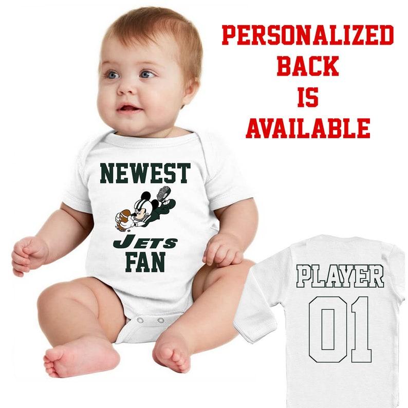 5948ead4c10 New York Jets Newest fan NY Baby Vest Baby Bodysuit Funny Baby