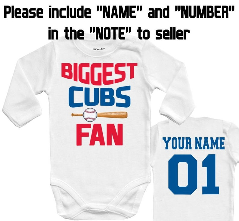 654bd3338cb BIGGEST Cubs Chicago MLB Baby Vest Baby Bodysuit Funny Baby