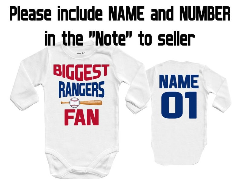 more photos c2b54 6d75f BIGGEST Rangers - Texas fan, MLB Baby Vest Baby Bodysuit Baby Child One  Piece boy's girl's Clothing girl Kid's Shower Bodysuits t-shirt Top