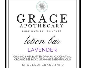 Lotion Bar Gift Set, small bars, Grace Apothecary