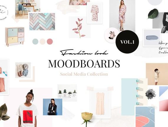 Collage Vorlage Moodboard Vorlagen Foto Collage Vorlage | Etsy