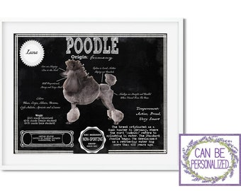 Poodle Bag Collage Pattern by Laura Heine from Fiberworks 18 W X 20 H with 18 Handle
