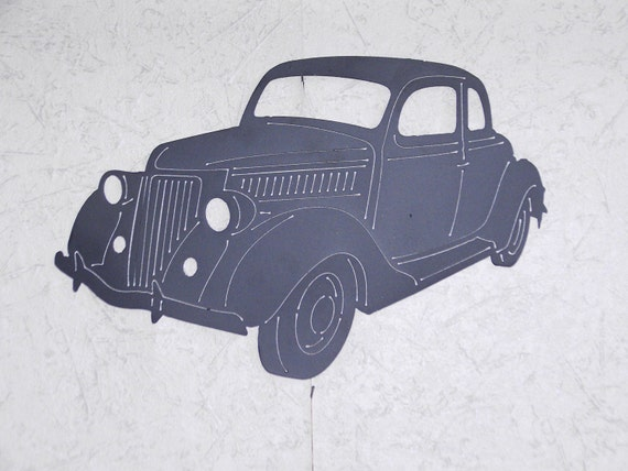1938 ford coupe metal wall art etsy 1949 Ford Coupe 1938 ford coupe metal wall art