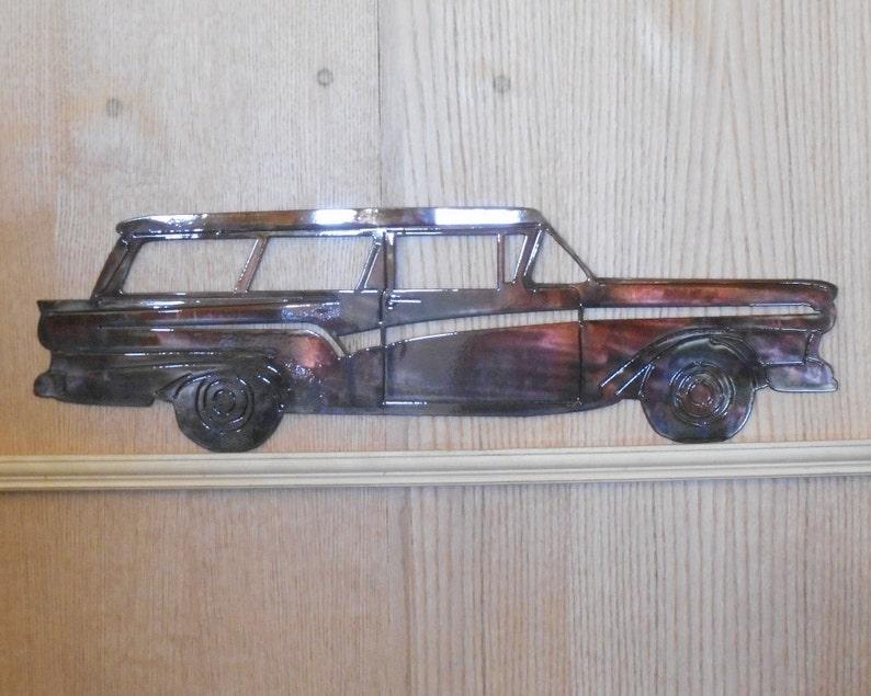 57 Ford Del Rio Wagon Wall Art [4500625]