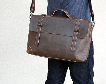 leather messenger bag,gift for him,back to school gift,leather bag men,leather laptop bag,leather briefcase,leather satchel men's