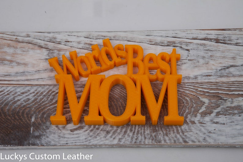 Worlds Best Mom 3d Printed Motivational Quotes Inspirational Etsy