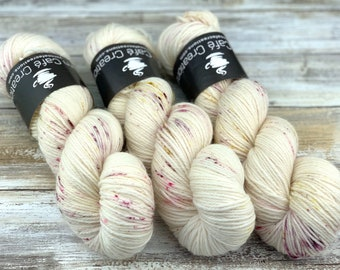DK Weight Wool/Nylon Blend | Timeless Rose | Hand Dyed Yarn | Superwash Wool