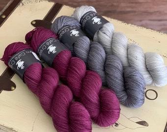 Hand-Dyed Yarn | Merino Wool | Navelli Kit Yeren