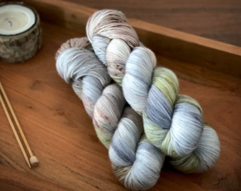 Tumbleweed | Hand-Dyed Yarn | Merino Wool | Earthy Collection