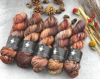 Worsted Weight | Autumn Leaves | Hand Dyed Yarn | Superwash