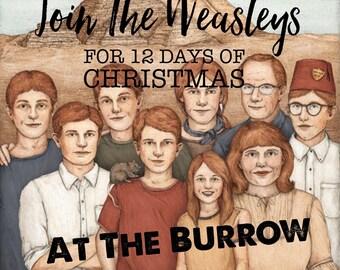 Christmas At The Burrow 12 Days of Christmas Advent Calendar