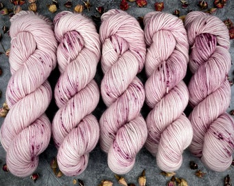 Worsted Weight | Ballerina | Hand Dyed Yarn | Superwash wool