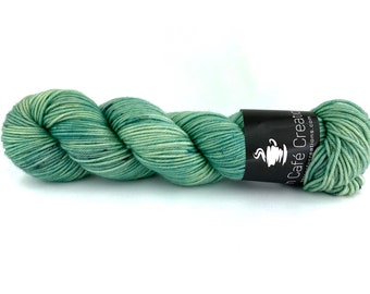 Hand-Dyed Yarn | Merino Wool | Sage Brush