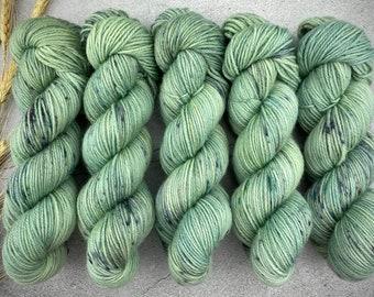 Veranda BFL DK Weight | 100% SW Blue-Faced Leicester Wool | Sage Brush | Hand Dyed Yarn | Superwash wool