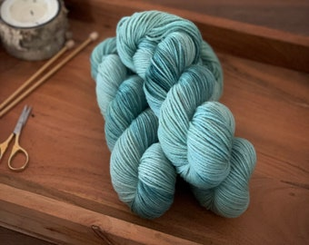 Lagoon | Non-Superwash Merino Wool | Hand-Dyed Yarn | DK Weight