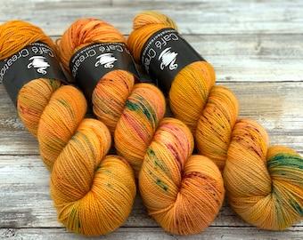 2-ply Fingering Weight | Phoenix | Hand Dyed Yarn | Superwash Merino Wool