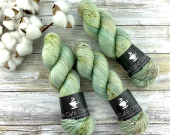 100% Merino SW Fingering Weight | Prickly Pear | Hand Dyed Yarn | Superwash wool