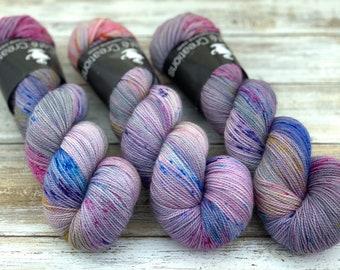 2-ply Fingering Weight | Pixie | Hand Dyed Yarn | Superwash Merino Wool