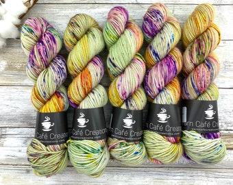 Americano DK Weight   100% SW Merino Wool   Apple Dumplin   Hand Dyed Yarn   Superwash wool