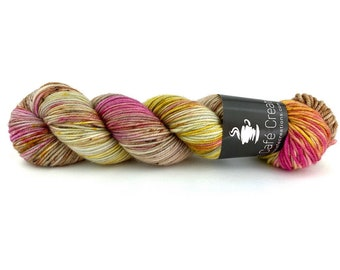 Hand-Dyed Yarn | Merino Wool | Earthy Collection | Peony