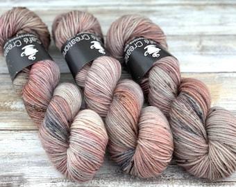 DK Weight Wool/Nylon Blend | Riverbed | Hand Dyed Yarn | Superwash Wool