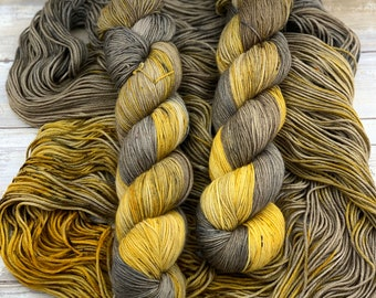 Calendula | Hand Dyed Yarn | Merino Wool Blend