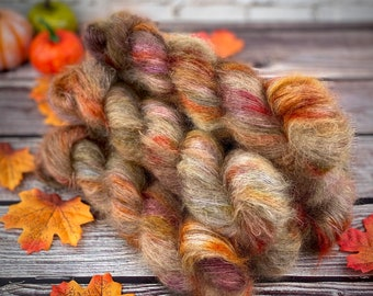 Mohair/Silk Lace   Autumn Leaves   Hand Dyed Yarn