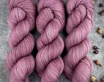 Biscotti Sock | 85/15 SW Merino/Wool Sock Weight| Clove | Hand Dyed Yarn | Superwash wool