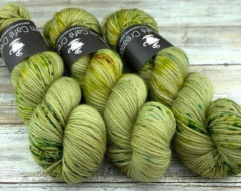 Worsted Weight | Lily Pad | Hand Dyed Yarn | Superwash wool