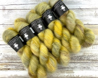 Harvest Moon | Mohair Lace | Hand Dyed Yarn