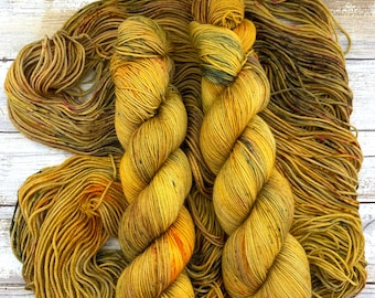 Rave | Hand Dyed Yarn | Merino Wool Blend