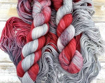 Apple Bloom | Hand Dyed Yarn | Merino Wool Blend