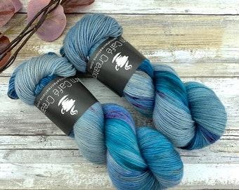 Cavern | Hand Dyed Yarn | Non-Superwash Merino Wool