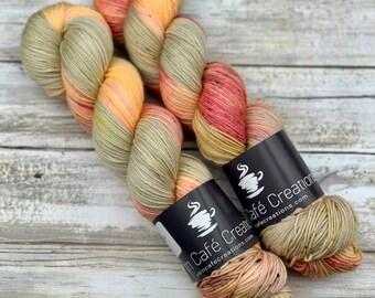 Hand-Dyed Yarn | Merino Wool | Apple Jack