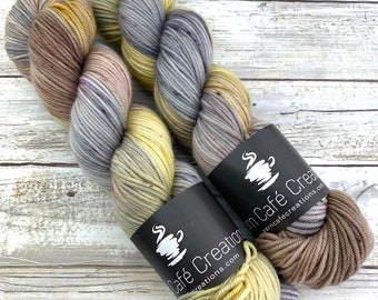 Dusk | Hand-Dyed Yarn | Merino Wool | Earthy Collection