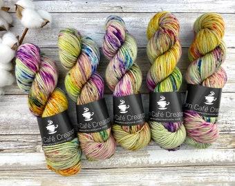 Polwarth DK Weight | 100% SW Polwarth Wool | Apple Dumplin | Hand Dyed Yarn |