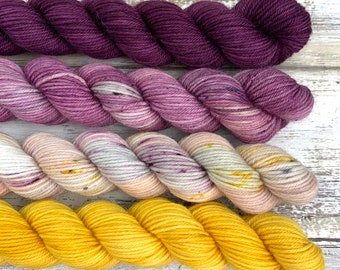 Cryptid Mini Skein Set #1 | Merino Wool Blend