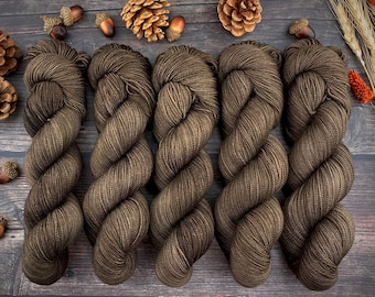 2-ply Fingering Weight | Allspice | Hand Dyed Yarn | Superwash Merino Wool
