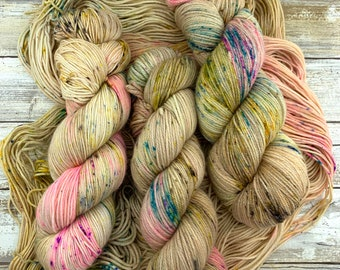 Union Of The Snake | Hand Dyed Yarn | Merino Wool Blend