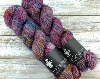 Hand-Dyed Yarn | Merino Wool | Earthy Collection | Tsunami