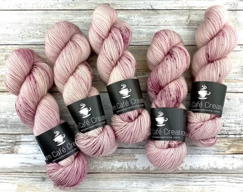 85/15 SW Merino/Wool Sock Weight| Ballerina | Hand Dyed Yarn | Superwash wool