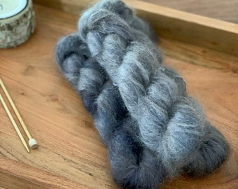 Seedling | Mohair Silk | Hand Dyed Yarn