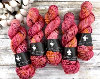 Worsted Weight | Honeycrisp | Hand Dyed Yarn | Superwash wool
