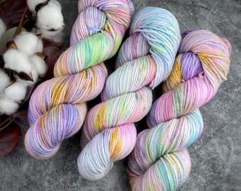 DK Weight | Angel Cake | Non-Superwash Merino Wool | Hand-Dyed Yarn