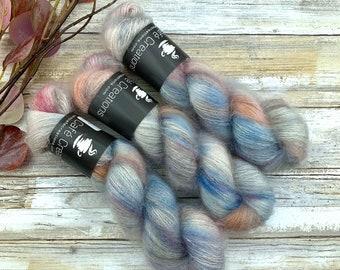 Zenith | Mohair Silk | Hand Dyed Yarn