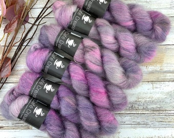 Tulip   Mohair Silk   Hand Dyed Yarn