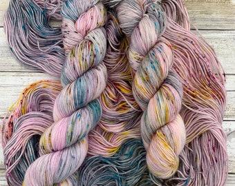 Pinkie Pie | Hand Dyed Yarn | Merino Wool Blend